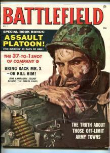 BATTLE FIELD #1-1957-BAMA-MARILYN-EKBERG-SOUTHERN STATES PEDIGREE-vf/nm