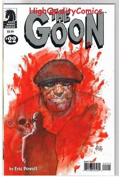 GOON #22, VF+, Zombies, Tough Guy, Eric Powell, 2003, more in store