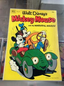 Dell Four Color 427 Walt Disney's Mickey Mouse and the Wonderful Whizzy  VG (10-