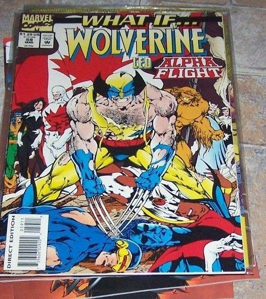 What If...? #59 (Mar 1994, Marvel)... WOLVERINE HAD LED ALPHA FLIGHT ?