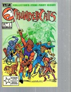 12 Comics Thundercats 1 Fantastic Four 1 3 Illuminati 5 S. Spider 1 + more EK17