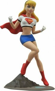 Femme Fatales Supergirl 9 PVC Statue -Superman The Animated Series- Mint in Box