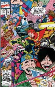 Bill & Ted's Excellent Comic Book #10, NM + (Stock photo)