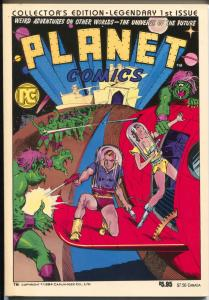 Planet #1 1984-1st issue-reprint of Planet Comics-Fiction House-1939-VF/NM