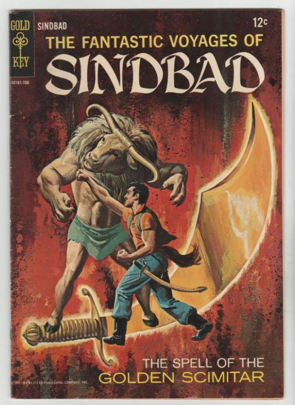 Fantastic Voyages of Sinbad, The #2 (Dec-69) VF/NM High-Grade Sinbad the Sailor