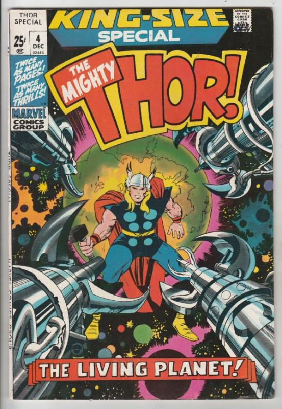 Thor, the Mighty King-Size Special #4 (Dec-71) NM/NM- High-Grade Thor