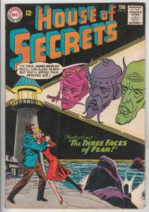 House of Secrets #62 (Oct-63) VG/FN+ Mid-Grade Mark Merlin, Eclipso