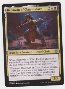 Magic the Gathering: Adventures in the Forgotten Realms- Barrowin of Clan Undurr