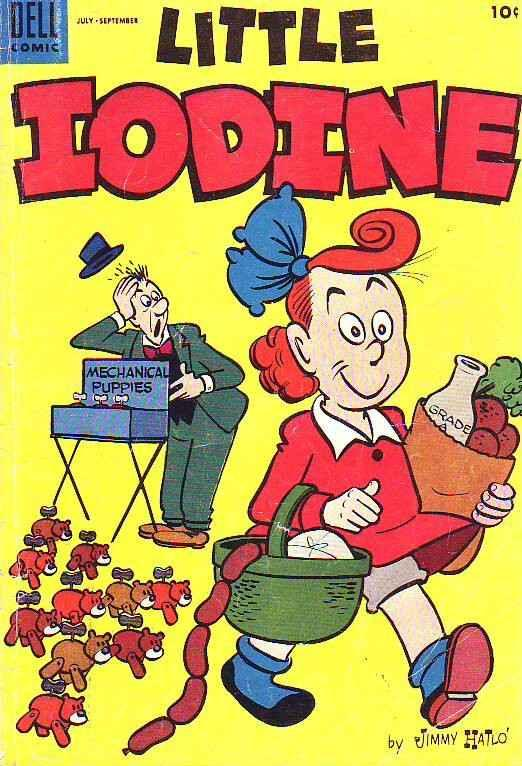 Little Iodine #29 (Jul-55) VG/FN Mid-Grade Little Iodine