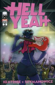 Hell Yeah #2 VF/NM; Image | save on shipping - details inside