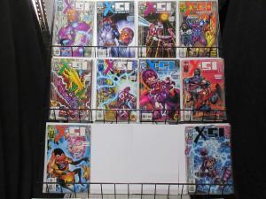 X-51 the Machine Man (Marvel 1999) #1-7, 10, 11, 12 Karl Bollers + Higgins