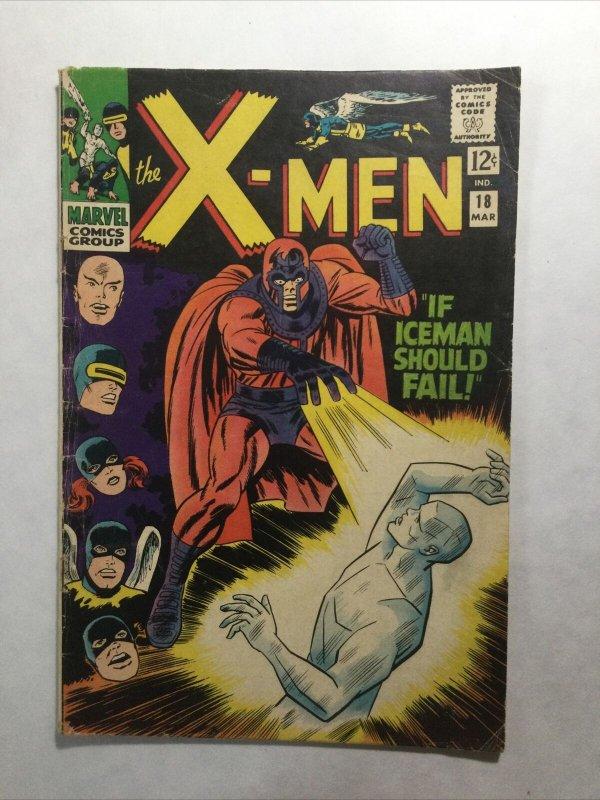 X-Men 18 Very Good Vg 4.0 Marvel