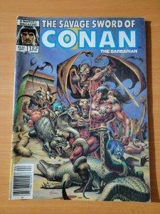 Savage Sword of Conan The Barbarian #123 ~ VF NEAR MINT NM ~ 1986 Marvel Comics