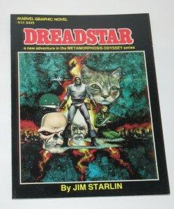 Marvel Graphic Novel #3 Dreadstar Metamorphosis Odyssey Starlin 1982 Marvel VF