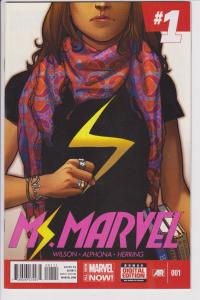 Ms. Marvel #1 First Kamala Kahn HTF First Edition