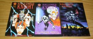 Hallowed Knight #1-3 VF/NM complete series - shea comics - set lot 1997 2