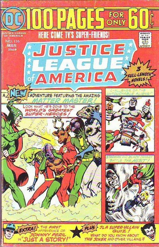 Justice League of America #116 (Mar-75) FN/VF Mid-High-Grade Justice League o...