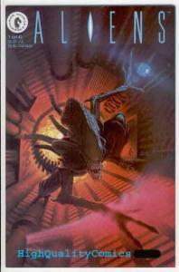 ALIENS #1, VF+, Horror, Verheiden, Sci-Fi, 1989, Space, more Horror in store