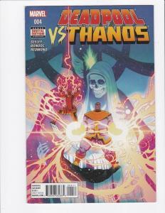 DEADPOOL vs THANOS #4, NM, Tim Seeley, Death, 2015, Marvel, Infiniity War