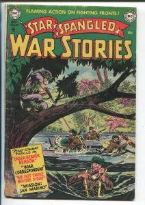 STAR SPANGLED WAR STORIES #133 1952-DC COMICS-WWII-JAPANESE SNIPER-fr