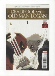 DEADPOOL VS OLD MAN LOGAN #1 MARVEL  COMICS NM