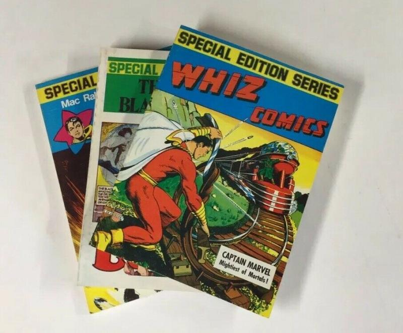 Special Edition Series Shazam Whiz Black Terror Volumes 1 2 3 Great Shape B22