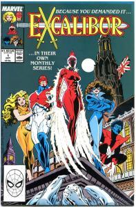 EXCALIBUR #1 2 3, 5 6 7 8 9-27 + more, VF/NM, Captain Britian,1988, 29 issues