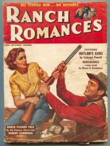 Ranch Romances Pulp 3rd September 1953- Outlaw's guns