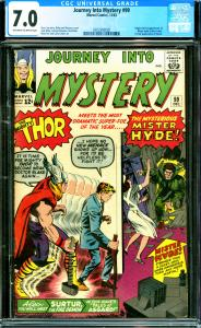 Journey into Mystery #99 CGC 7.0 1st Mister Hyde, 1st Full Surtur