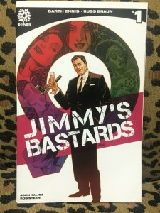 JIMMY'S BASTARDS - AFTERSHOCK - 8 ISSUES #1-3, 5-9 - 2017-18 - VF+