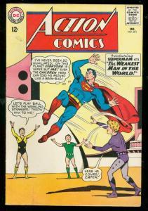 ACTION COMICS #321 1965-SUPERMAN-DC COMICS-SUPERGIRL VG