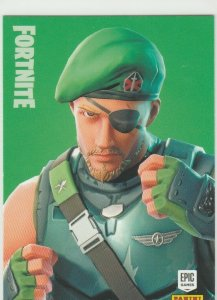 Fortnite Garrison 126 Uncommon Outfit Panini 2019 trading card series 1