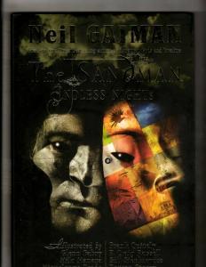 The Sandman: Endless Nights Vertigo HARDCOVER Graphic Novel Comic Book CE4