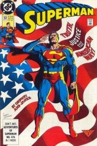 Superman (1987 series) #53, VF (Stock photo)