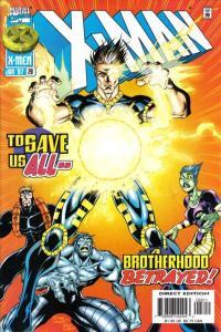 X-Man #28, NM (Stock photo)