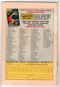 Classics Illustrated #134 (Sep-56) VG- Affordable-Grade Romeo and Juliet
