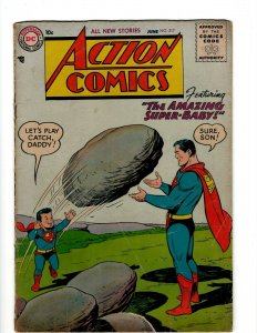 Action Comics # 217 FN DC Comic Book Superman Batman Green Lantern Flash KD1