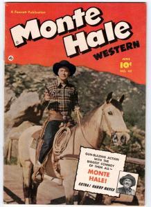 Monte Hale Western #49 (Jun-50) VF/NM High-Grade Monte Hale, Gabby Hayes