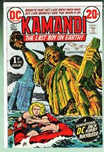 Kamandi, The Last Boy on Earth #1 (1972)