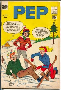 Pep #170 1964-Archie-skiing cover-Josie-Betty-Veronica-VG/FN
