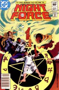 Night Force (1982 series) #2, VF- (Stock photo)
