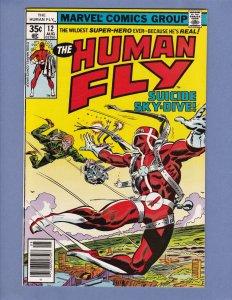 Human Fly Lot #5 #8 #9 #12 Marvel 1978