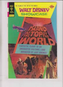 Walt Disney Showcase #27 VF+ february 1975 - island at the top of the world
