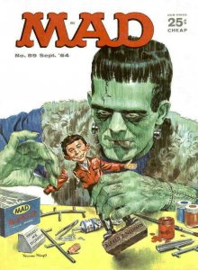 Mad #89 VG; E.C   low grade comic - save on shipping - details inside