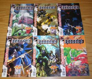 RoboDojo #1-6 VF/NM complete series - wildstorm comics - marv wolfman set lot
