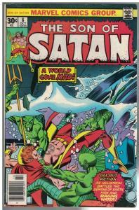 SON OF SATAN 6 VG-F Oct. 1976