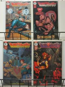 HEARTBREAKERS (1996 DH) 1-4  complete Alex Ross p/up#2