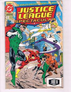 Justice League Spectacular #1 VF DC Comics Comic Book Hawkman Cyborg DE17