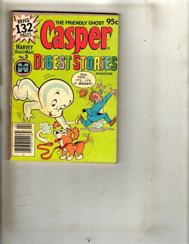 Lot of 8 Casper Digest Pocket Books #1 1 1 2 2 3 3 8 WS15 / HipComic