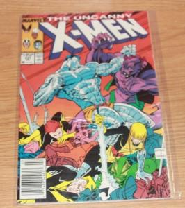 UNCANNY X-MEN #231 (Jul 1988, Marvel) magik limbo sym colossus